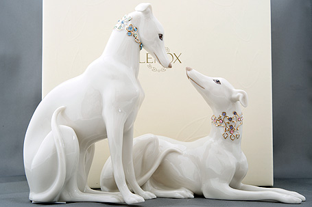 Collectible figurines Porcelain Lenox Greyhounds